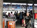 The Team Norton pit