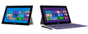Microsoft's Surface 2 and Surface Pro 2