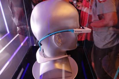 Lenovo's prototype smart glasses for consumers.