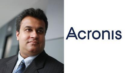 Neil Morarji - Acronis A/NZ general manager
