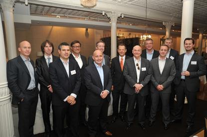 From Left: Ryan Ettridge (Dimension Data), Patrick Budmar (ARN), Louis Abdilla (Content Security), Stephen Parker (NewLease), Joe McPhillips (McAfee), Justin McGarr (McAfee), Cam Wayland (Channel Dymanics), Gordon Anthony (GA Systems), Richard Charlton (IPSec), Allan Swann (ARN), James Boyle (NetStrategy), Patrick Butler (Loop Technology)