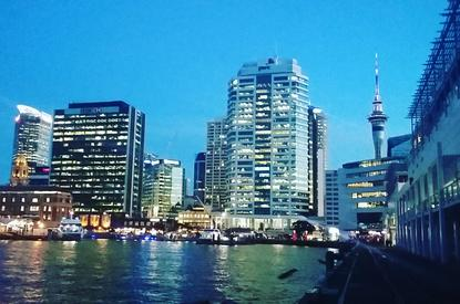 Auckland Transport's ride-sharing trial will focus initially on connections to and from the downtown ferry terminal.