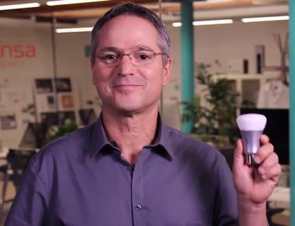 Sansa Security and its CEO Coby Sella can help protect all kinds of connected devices, including bulbs.