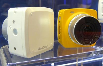 Shown off at Computex 2015 in Taipei June 3, the Cubic Live camera from Taiwan's Altek can stream live video to YouTube. It will be priced around US$130.