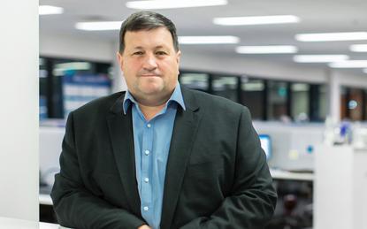 David Lenz (CEO and managing director, Hills)