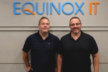 Dean Sloan and David Reiss (Equinox IT)