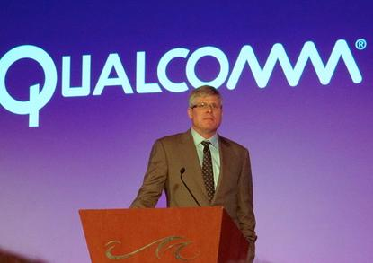 Qualcomm CEO Steve Mollenkopf at CES