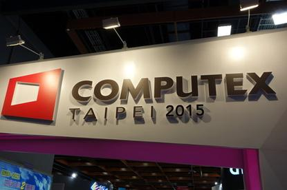 The Computex show in Taipei goes on this week.