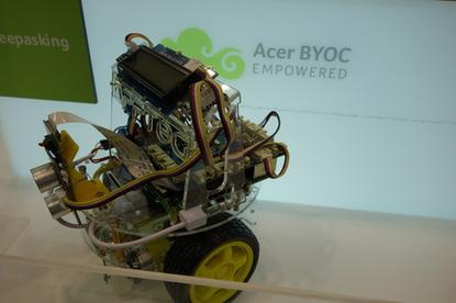 Acer is using its hardware to target more enterprise areas, including teaching educators how to program robots.