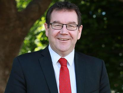 Grant Robertson, Minister of Finance.