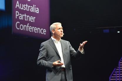 Phil Sorgen, Microsoft's corporate vice president, worldwide partner group