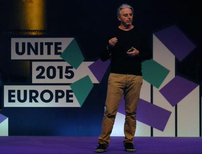 Unity Technologies CEO John Riccitiello talks about the company's future at Unite Europe in Amsterdam.