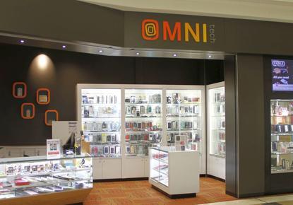 An Omnitech store in Meridian Mall, Dunedin.