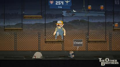 3D Attack Interactive's $2 The Other Brothers game is a shout-out to Super Mario Bros.
