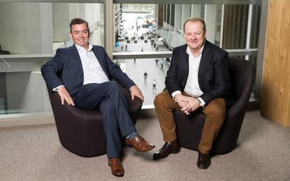 Andrew McAdams (PrimeQ) and James Madigan (Accenture)