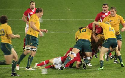 The Wallabies are aiming to lead the Rugby World Cup data wars.