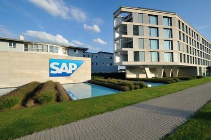SAP headquarters in Walldorf, Germany.