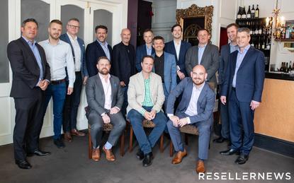 L-R: Dermot Conlon (SecOps); Igor Matich (Dynamo6); Nigel Everett (Defend); Frazer Scott (Plan B); Jon Fox (Sophos); Michael Foley (Umbrellar); Greg Sharp (Base 2); Noel Simpson (Lexel Systems); Igor Portugal (Catalyst IT); Dave Wilson (IT360); Martin Smithson (Kordia); James Henderson (Reseller News); Lewis Holden (Cogent) and Cameron Reid (Sophos)