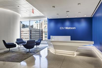 IBM's Watson West hub in San Francisco. Credit: Tony Avelar/IBM