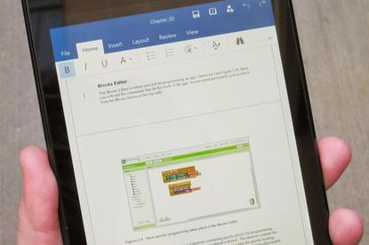 Office for Android shipped in January, joining Office for iPad as a free, native application for mobile users.