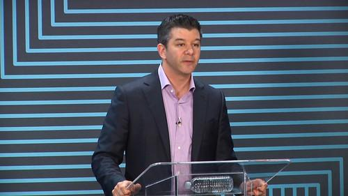 Travis Kalanick, CEO of Uber, speaks at an event in San Francisco on June 3, 2015 held to mark the fifth anniversary of the ride hailing service.