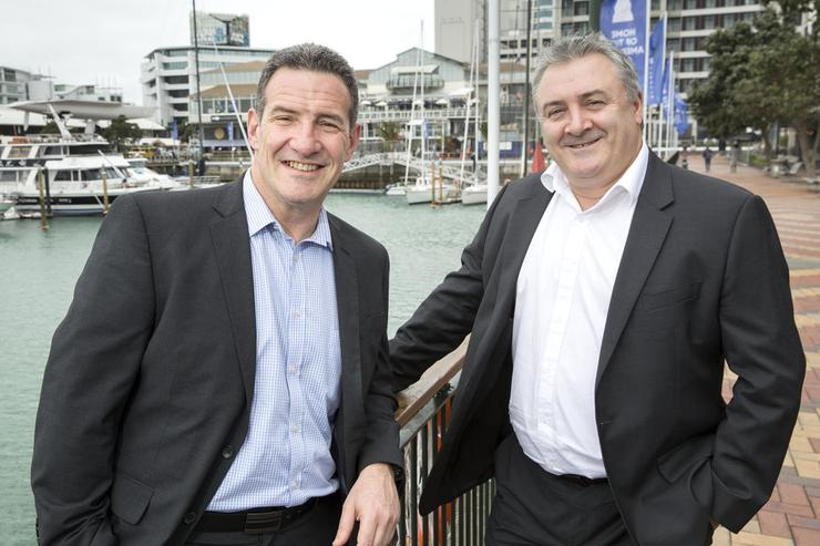 David Weinstein (left) will lead SMX's charge into the Australian channel after being appointed by David Frazer (right)