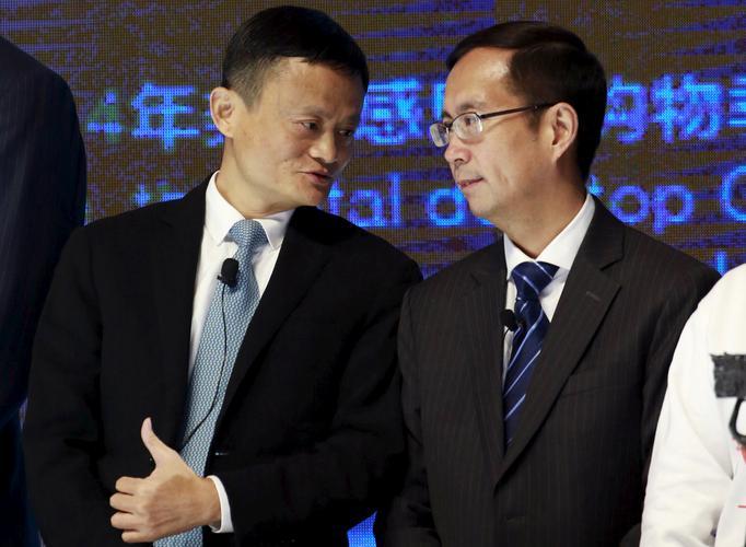 Jack Ma (Alibaba) and Daniel Zhang (Alibaba)
