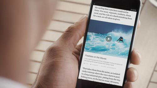 Facebook's Instant Articles promises to offer fast access to news articles with multimedia content.