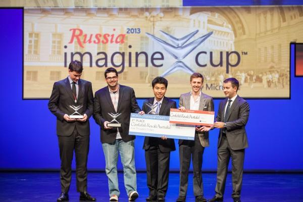 Australian Team Confufish Royale from the University of New South Wales wins third place