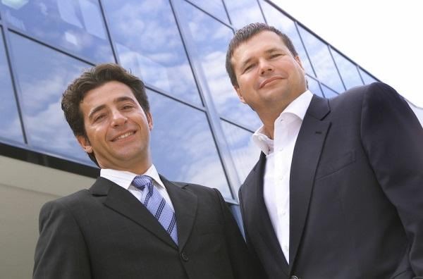 They were just a little younger then: Nick Verykios and Scott Frew re-enter the IT channel with the acquisition of Firewall Systems