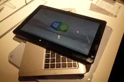 The Asus Transformer Book Duet TD300