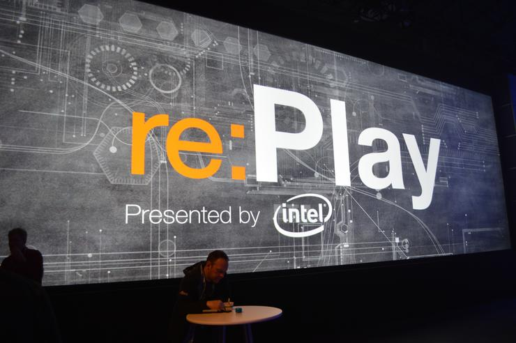 Intel hosted the Re:Play after-part at Re:Invent 2013