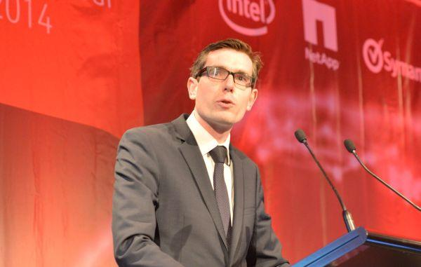 NSW government's minister for finance and services, Dominic Perrottet.
