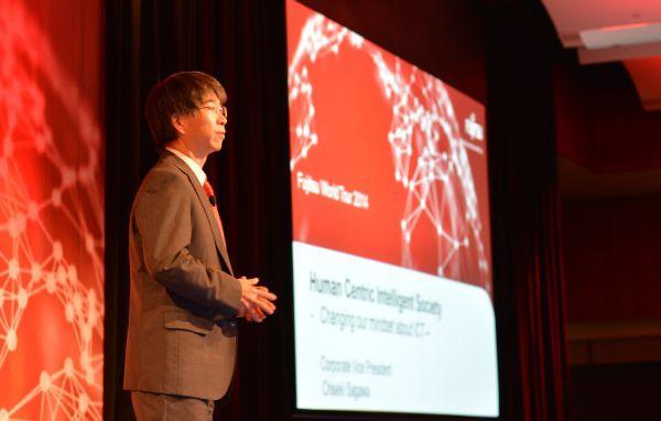 Fujitsu's corporate vice president and head of platform strategic planning unit and global software centre, Chiseki Sagawa.