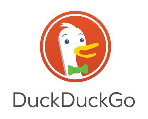 DuckDuckGo's logo.