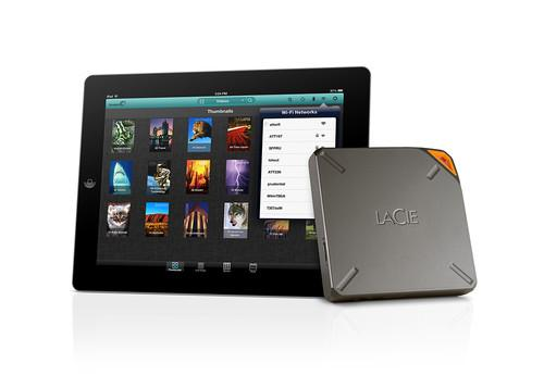 LaCie's Fuel wireless hard drive