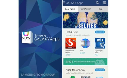 Samsung redesigns app store