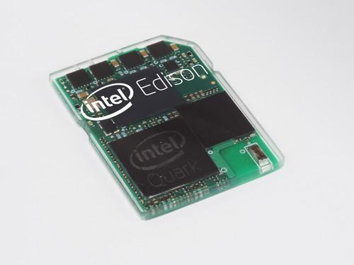 Intel's Edison computer for wearable devices