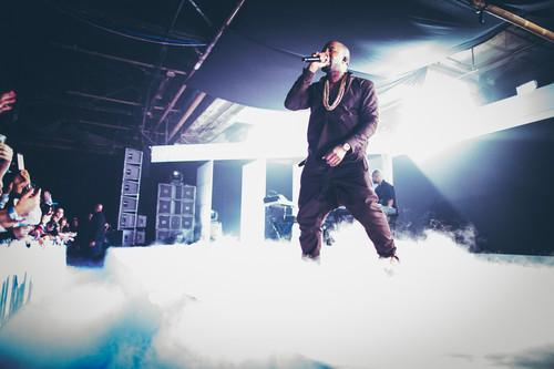 Kanye West performs exclusively for Samsung Mobile fans at Galaxy Note II and Galaxy Camera U.S. launch.