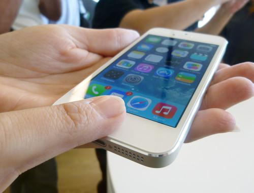 Using the fingerprint reader on the iPhone 5S