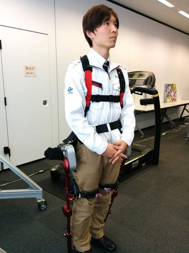 The PLL-04 Ninja powered exoskeleton, developed by Panasonic group company ActiveLink, could be used as the basis for powered suits in the nuclear and other industries.