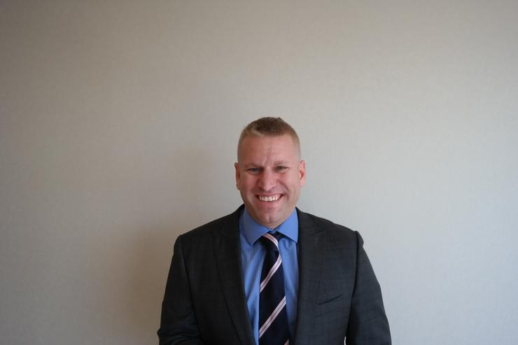 Fusion-io national partner sales manager, Jason Finlayson.