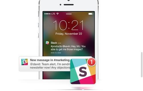 Tiny Speck's Slack app for workplace productivity.