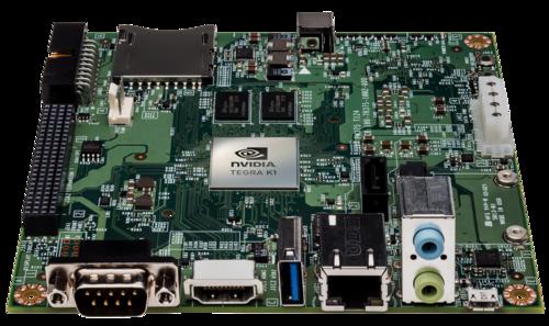 Nvidia's Jetson TK1 development board