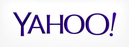 Yahoo's new logo