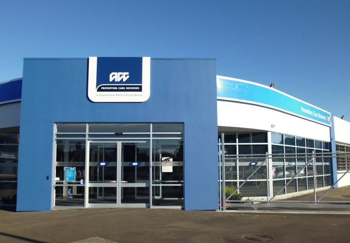 ACC's Palmerston North Office.