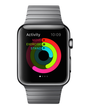 I try my darndest to close all three circles every day, but sometimes that red Move ring gets sluggish on me.