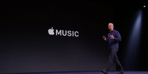 Tim Cook announces Apple Music at WWDC 2015