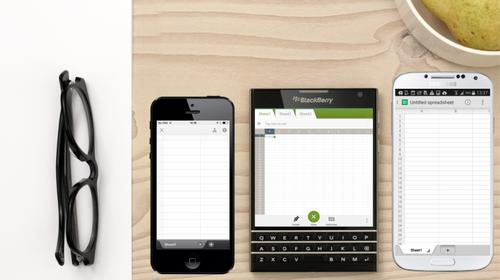 BlackBerry is betting its future on a square phone.
