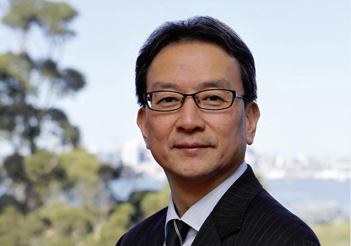 Canon's new Oceania managing director Yusuke Mizoguchi.